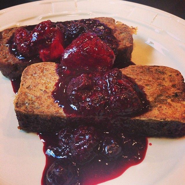 minimal_indulgence - @paleomg Banana Bread French Toast topped with ...