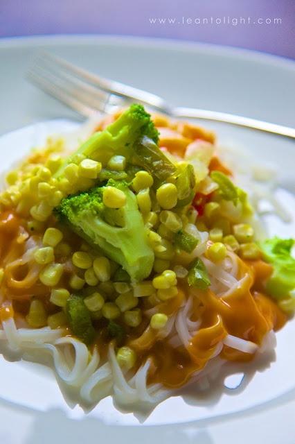 Veggie Buddha Bowl with Peanut Sauce