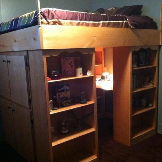 Uye Home Queen Size Loft Beds