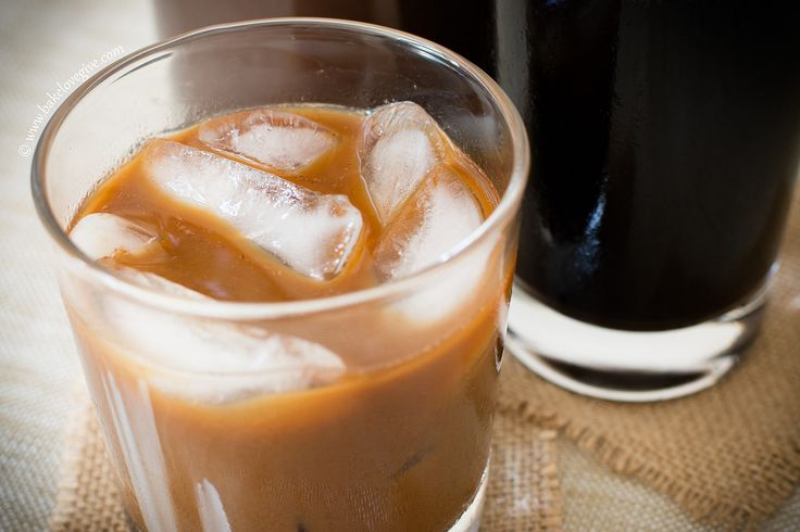 cold brew iced coffee concentrate - bake.love.give.