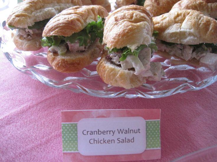 cranberry walnut chicken salad | Cranberry | Pinterest