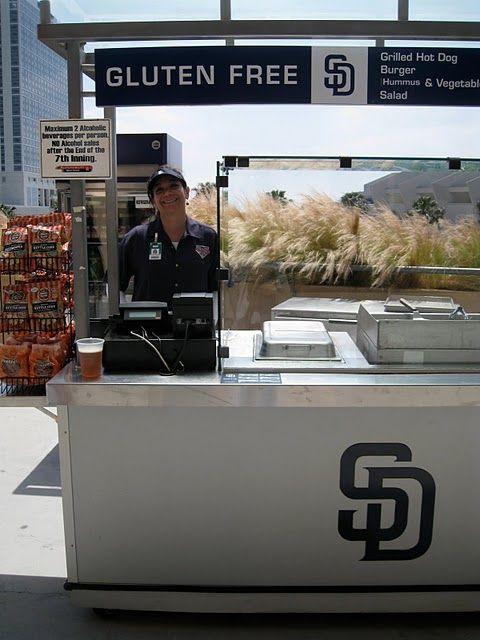 Gluten Free Kiosk at San Diego Padres Baseball Stadium! | FineCooks