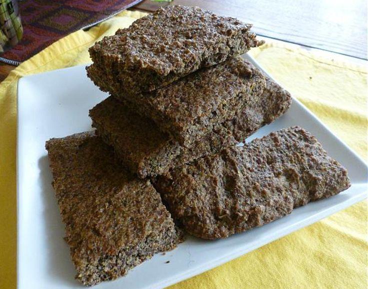 Gluten-free Italian Foccacia Flax Bread
