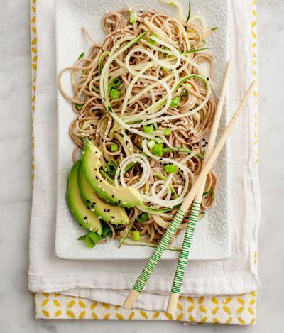 Cold cucumber soba / recipe | Recipes | Pinterest