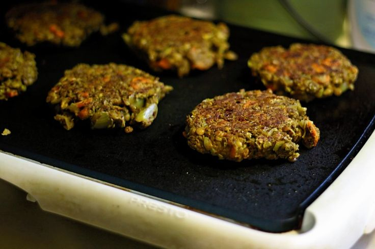 indian spiced lentil walnut burgers | Healthy Recipes - Vegetarian ...