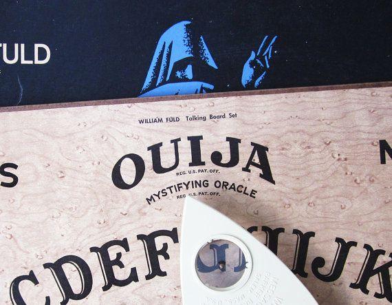 Vintage Ouija Board Box 1960 Ouija Board Box