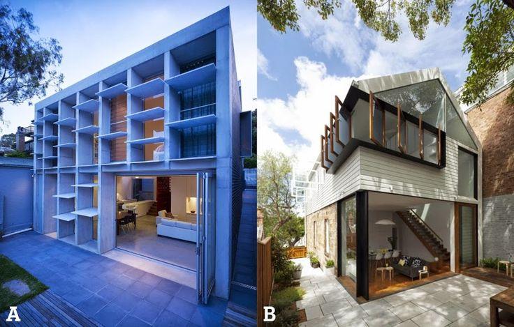 Modern House Interior Exterior Design Pinterest