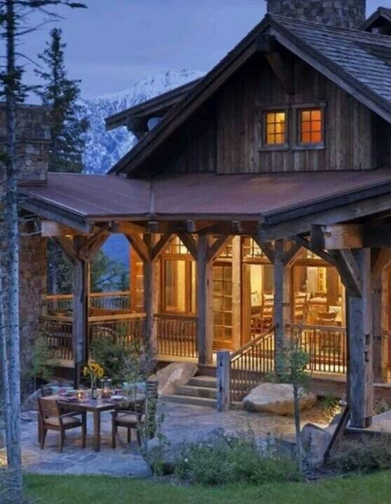 Beautiful Cabin Home For The Home Pinterest