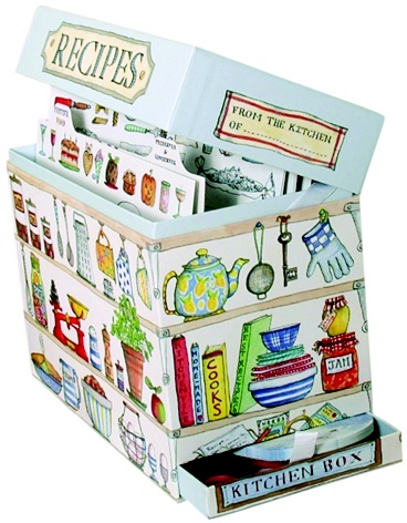 Great For Storing All Those Cut Out Recipes Or As A Kitchen Tea Gift