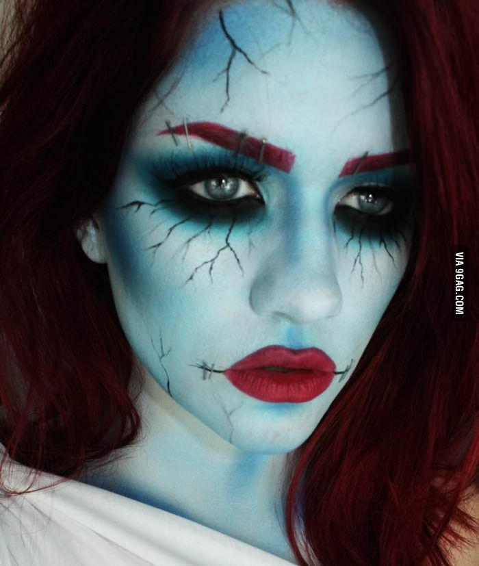 Dead Bride Makeup Pictures : My Corpse Bride costume makeup. HaLLoWeeN ~ Hocus Pocus ...