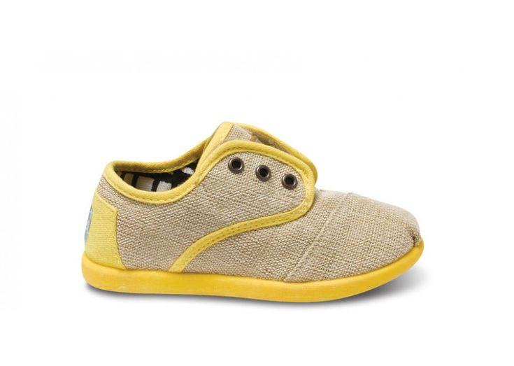 Yellow Maddox Tiny TOMS Cordones