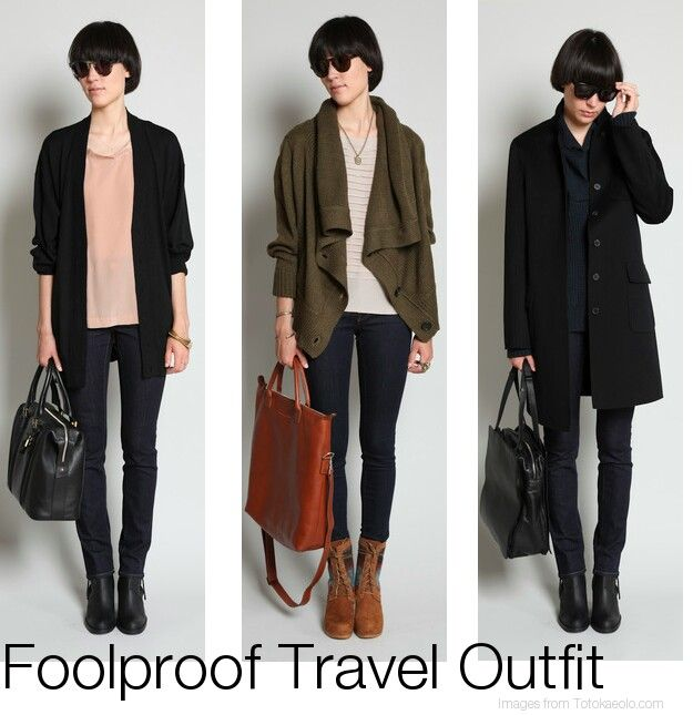 Fall/Winter Travel Outfits | Travel Tips | Pinterest
