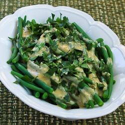 -Cooked Green Beans With Tahini-Lemon Sauce (plus 10 More Green Beans ...