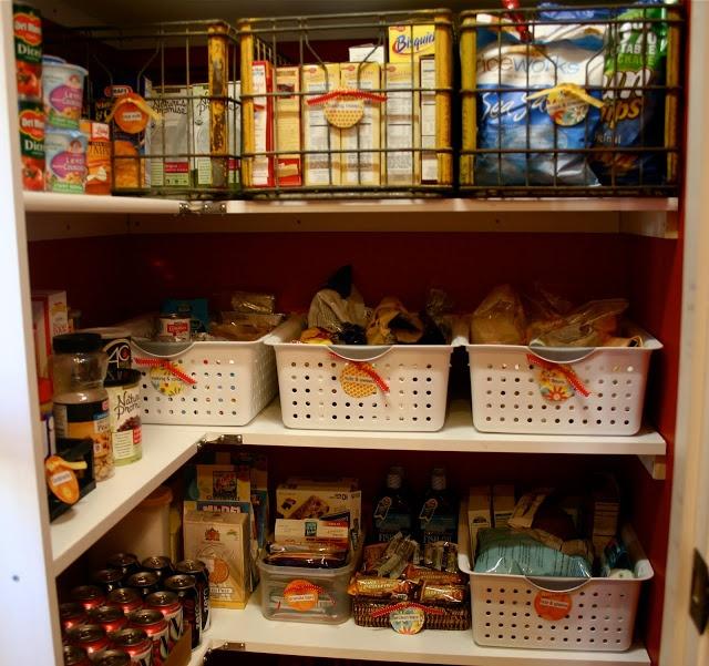 organizing my pantry