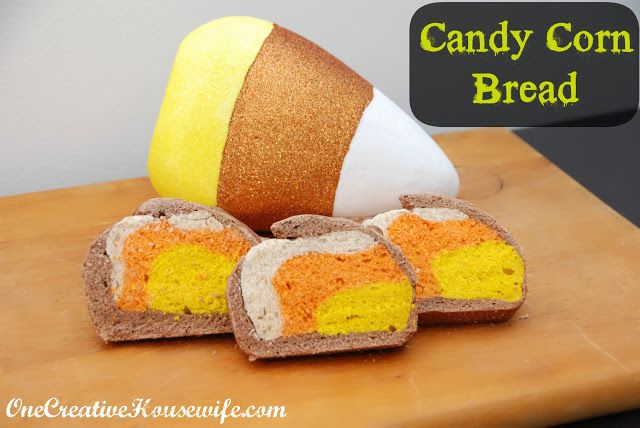 Candy Corn Bread | Breads, Loaves & Muffins | Pinterest