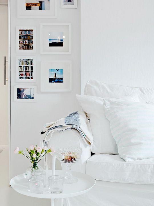 Lucite & white.