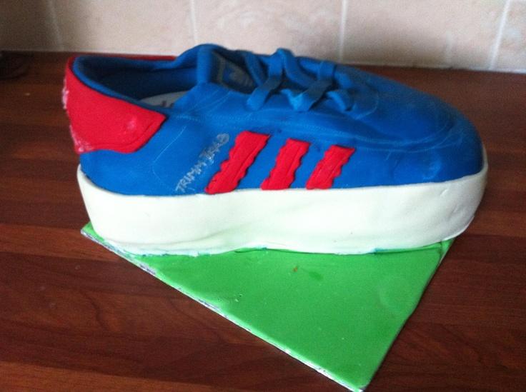 Adidas Trimm Trab Birthday cake for my 40th Bday - thankyou JoSoFine