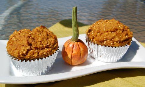 Pumpkin Millet Muffins - I've got a bag of millet with no real ideas ...