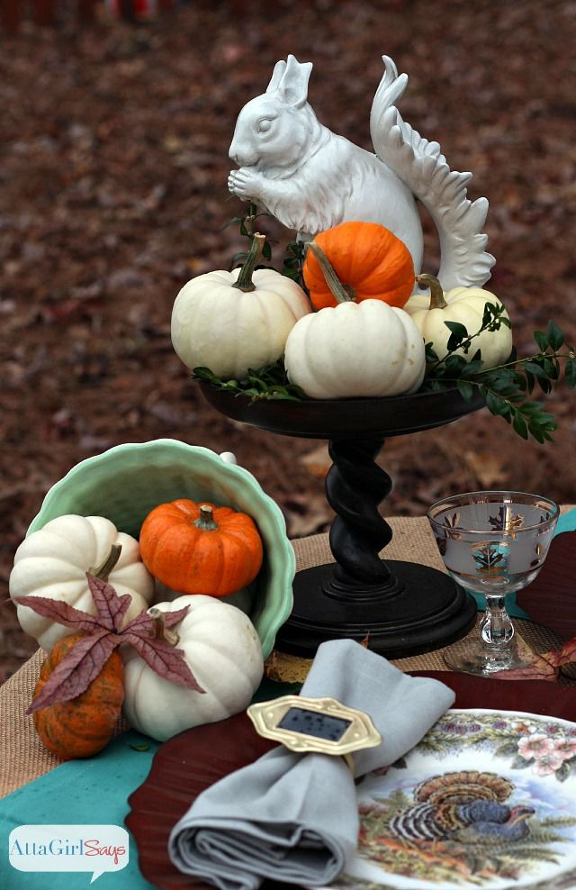 Decorating Ideas > Simple Outdoor Thanksgiving Table Decorations ~ 042623_Outdoor Thanksgiving Decorations