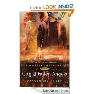 city of fallen angels book report Latest book from the mortal instruments read an excerpt the mortal instruments: city of bones movie trailer maureen's city of fallen angels blog update.