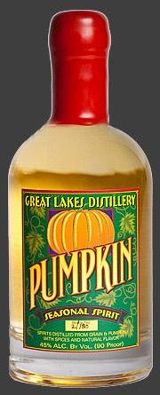 Headless Horseman Punch 2 oz Great Lakes Distillery Pumpkin Seasonal ...