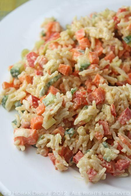 Confetti Rice salad | Salads | Pinterest