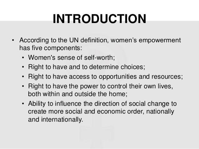 Essay on women empowerment in 300 words
