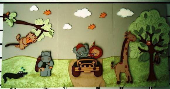 decoração Painel - Safari quadros