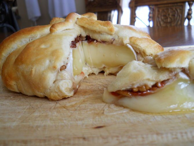 Cherry, Pecan and Rosemary Brie en croute | Recipe