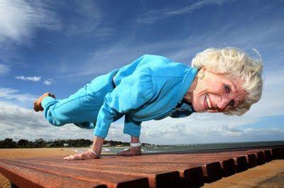 Bette Calman- 83 and still going strong!