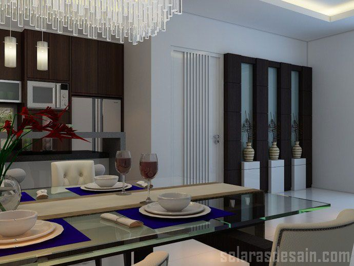 jasa interior rumah pantry minimalis home interior