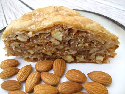 almond cinnamon baklava | Sugar High | Pinterest