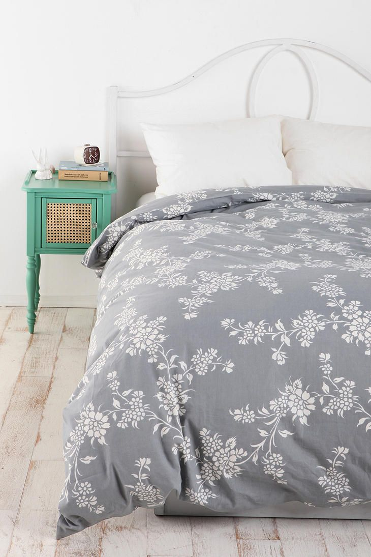 Vine Flower Duvet Cover