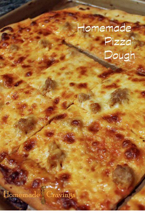 Homemade Pizza Dough | Recipe