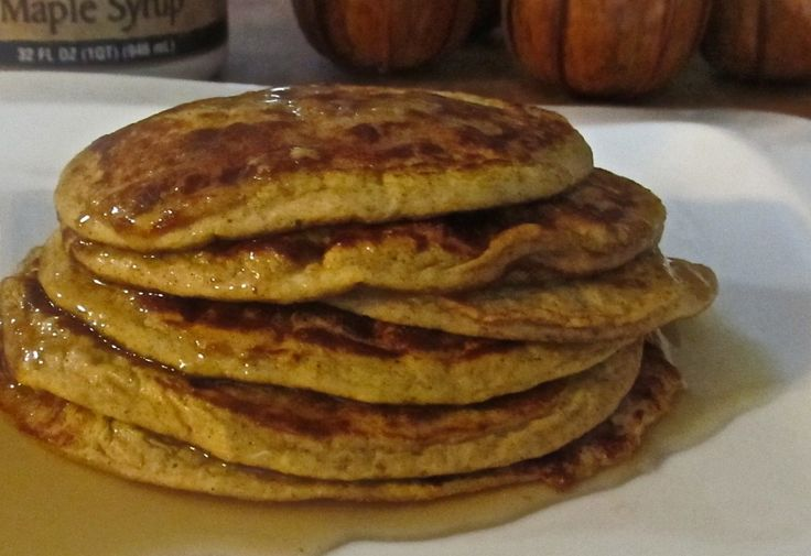 Pumpkin Spice Protein Pancakes   Foooood   Pinterest