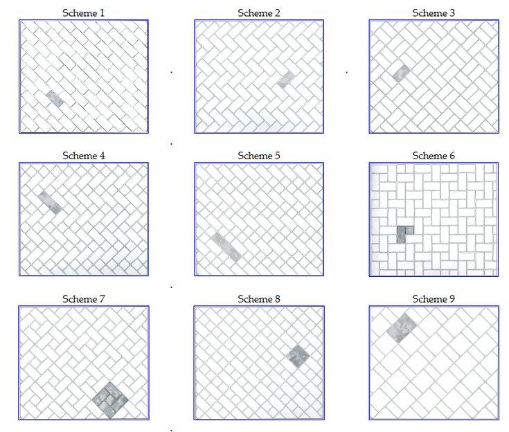 subway tile patterns kitchen timeless pinterest square pattern white subway tile bathroom with brick style