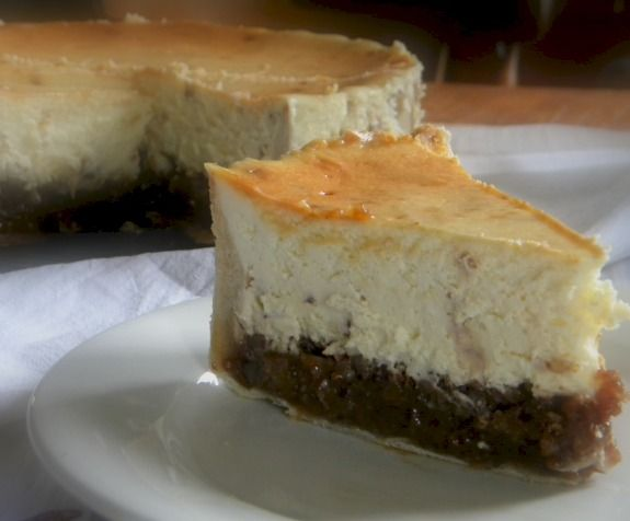 Hot Buttered Rum Pecan Pie Cheesecake...with Toffee! Doesn't get any ...