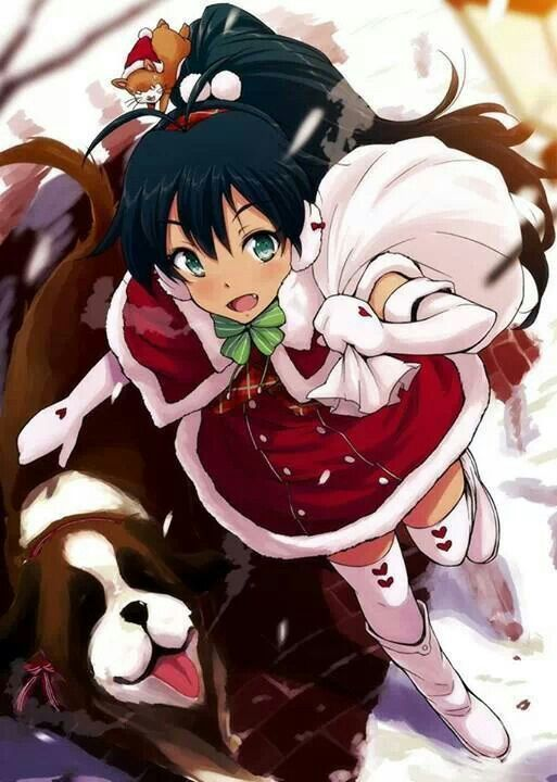Pin by amber medrano on anime christmas pinterest