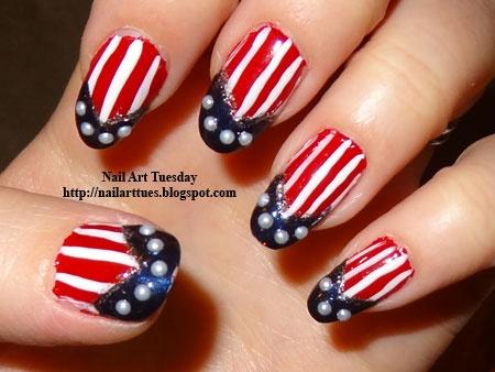 memorial day nail ideas