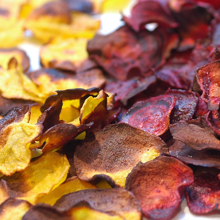 Savoring Time in the Kitchen: Oven Roasted Beet Chips