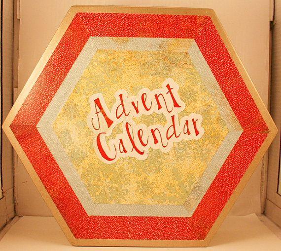 Christmas Advent Calendar Countdown or Twelve Days of Christmas in Ke ...