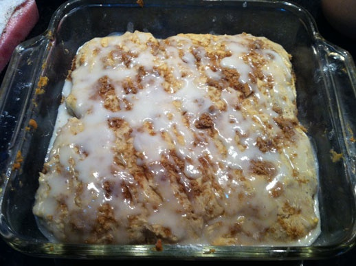 gooey cinnamon biscuits - Market to Meal