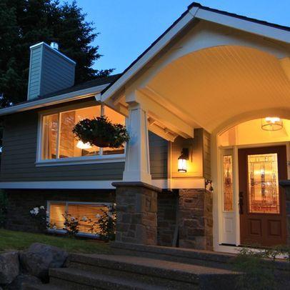 Raised ranch front porch designs joy studio design for Raised ranch entryway remodel