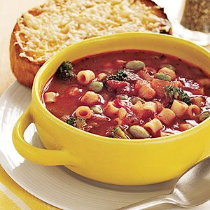 Pasta and Bean Soup | Recipe