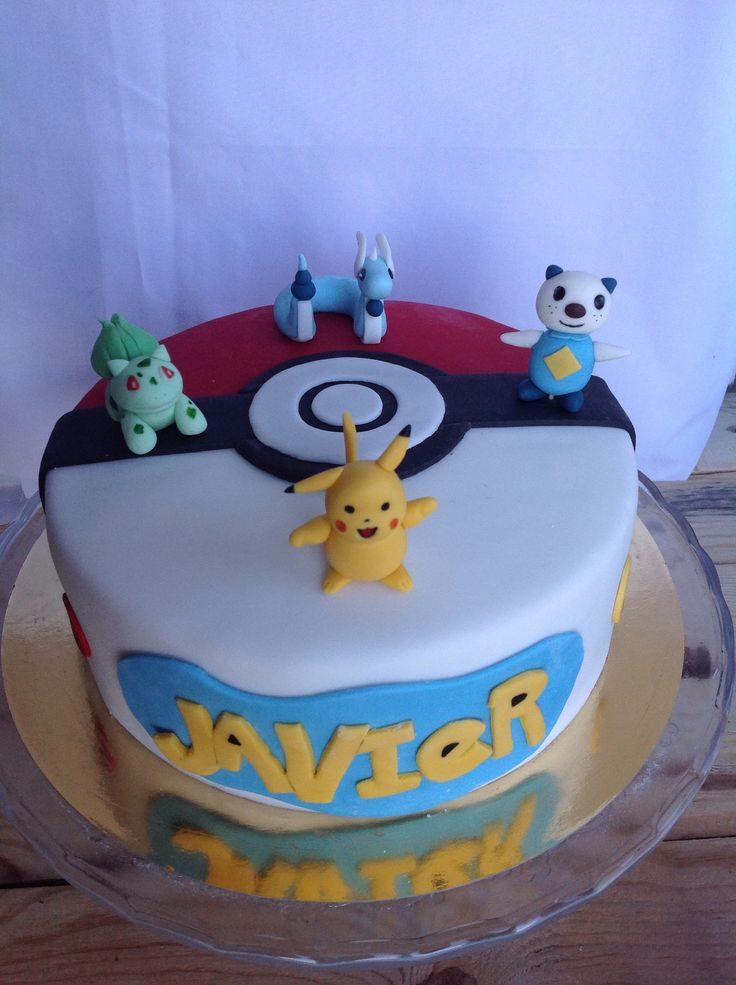 pokemon fondant