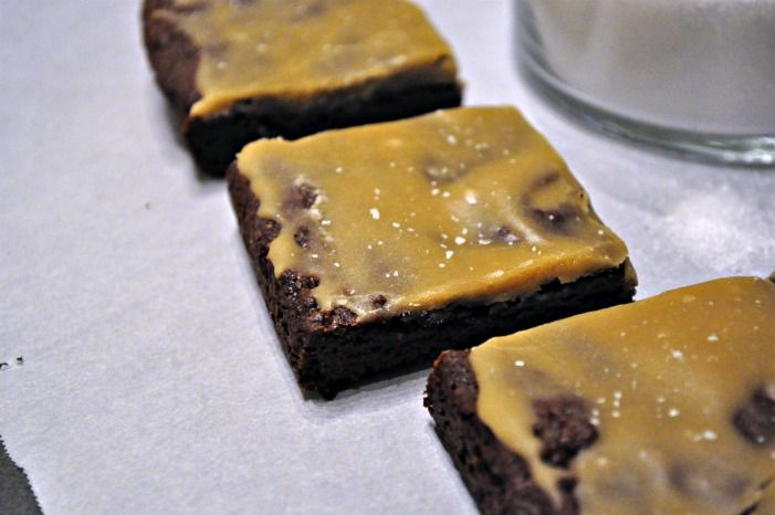 Fudgy Salted Caramel Brownies | Tasty Treats | Pinterest