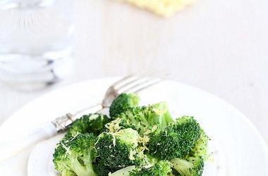 Lemon Pepper Steamed Broccoli — Punchfork