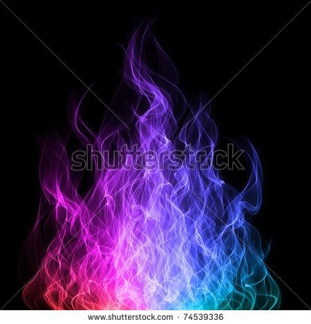 rainbow fire | Fire, Ice & Water | Pinterest
