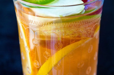 Virgin Spicy White Spicy Sangria — Punchfork ( need to make it a non ...