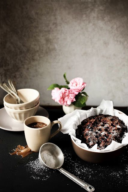 Cherry and molasses cake | FOOD PHOTOGRAPHY | Pinterest